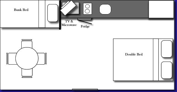 Budget Cabin Floor Plan