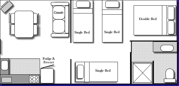 Family Unit Floor Plan